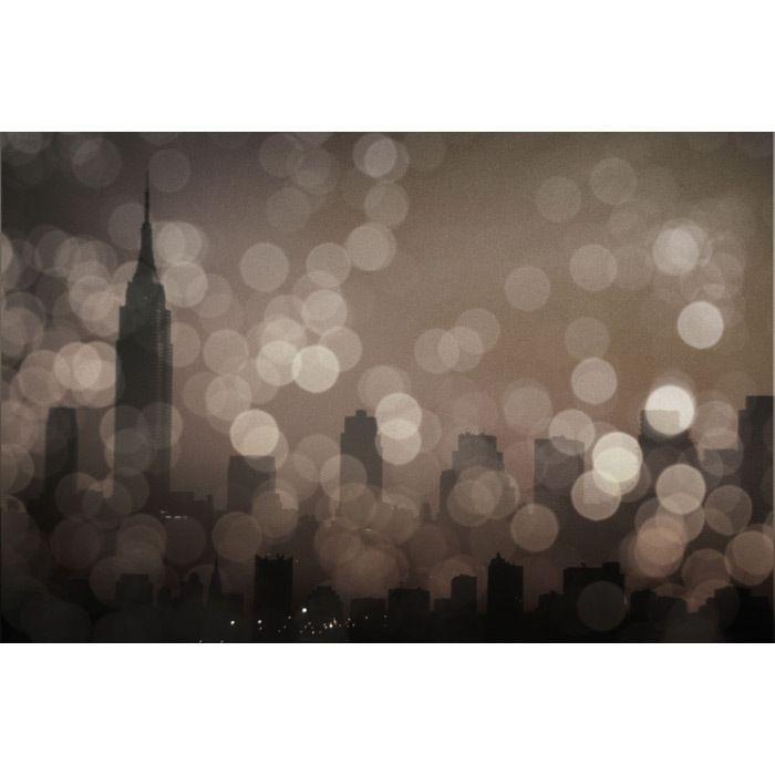 NY Sleeping Canvas Art