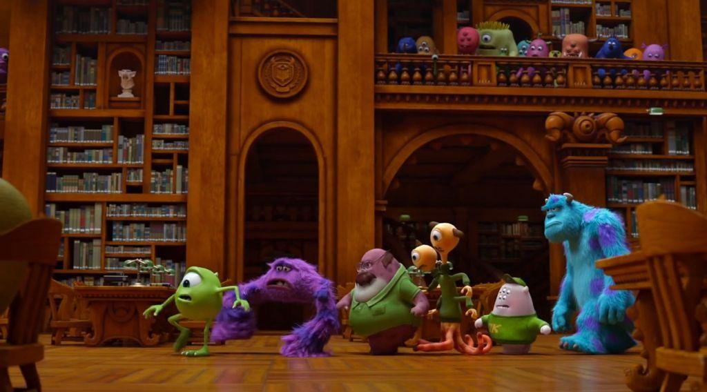 Monsters University Movie Trailer Screenshot Library Challenge Monster University Movie Trailers Disney Wishes