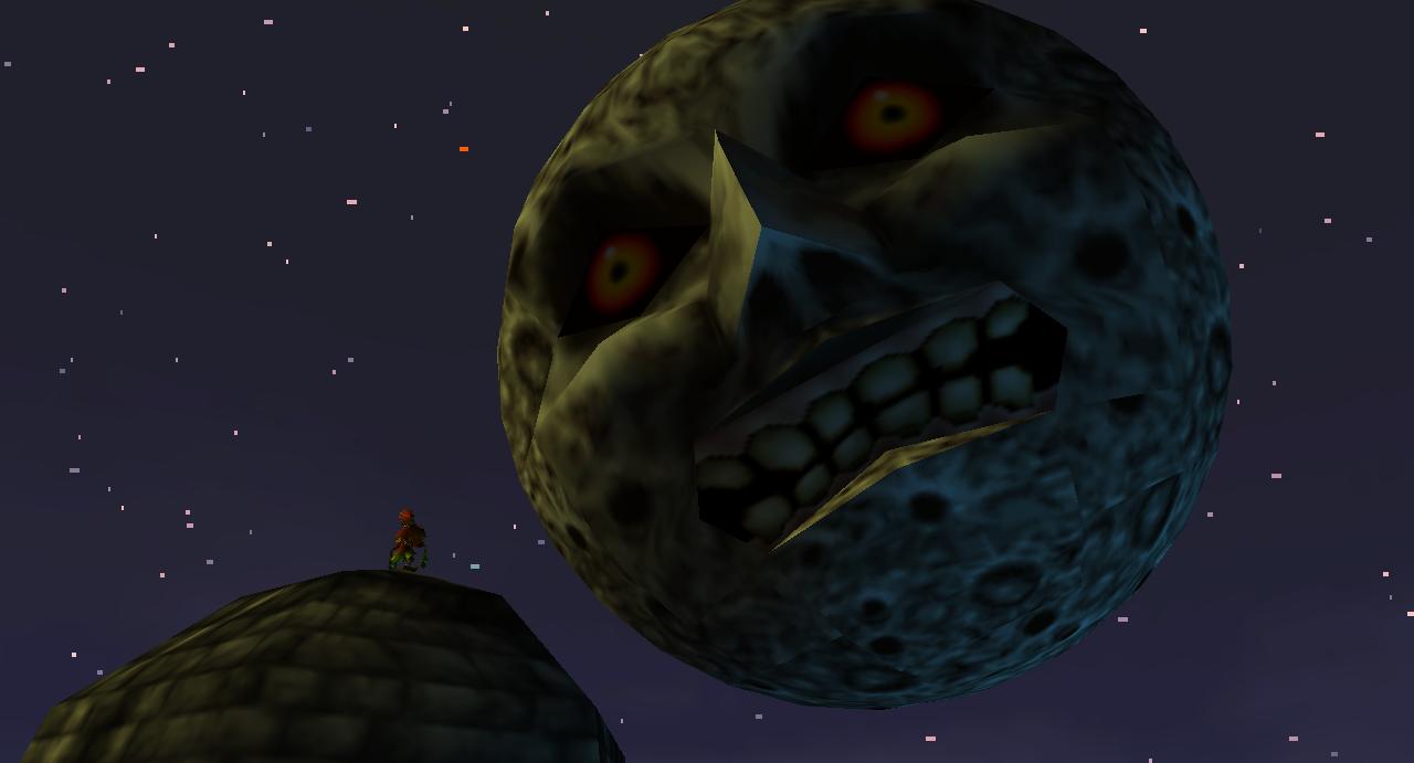 The Moon Legend Of Zelda Majoras Mask Stages Of Grief