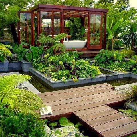 75 Desain Taman Belakang Rumah Minimalis Klasik Backyard Design In