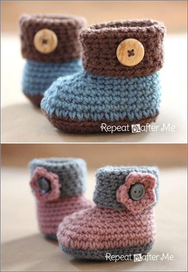 Best 30 Collection of Crochet Design Ideas | Crochet booties pattern ...