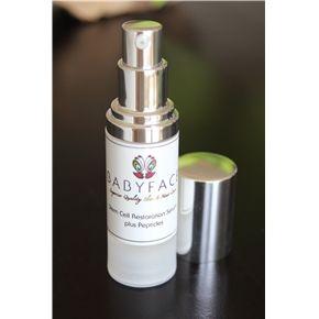 Babyface Stem Cell Regeneration Serum + Matrixyl 3000 & Silk Peptides. High quality serum, without the high price.