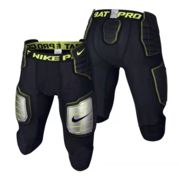 Nike pro combat hyperstrong 34 football compression pants