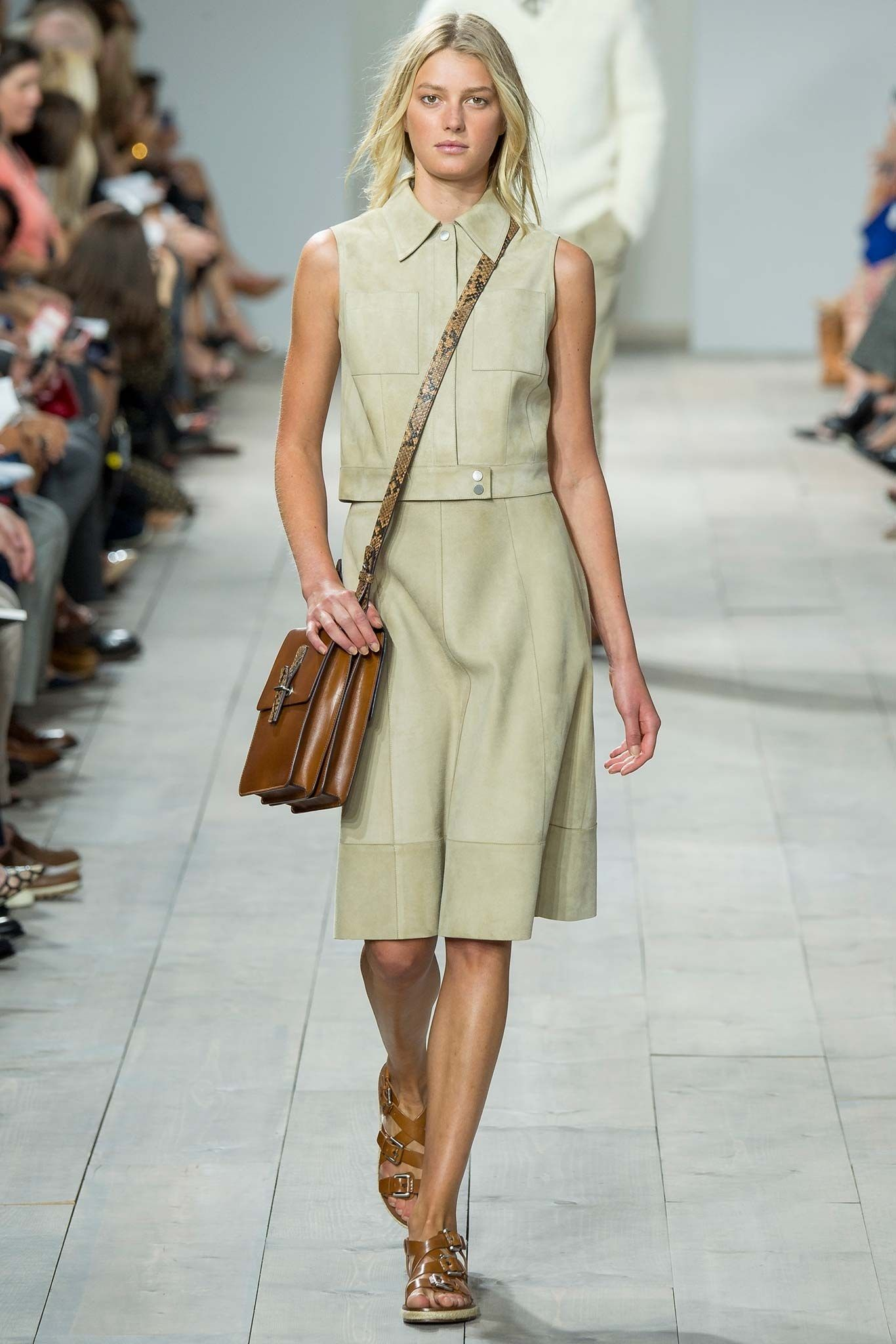 8c3cc80e2fa8 Michael Kors Collection Spring 2015 Ready-to-Wear Fashion Show - Sigrid  Agren