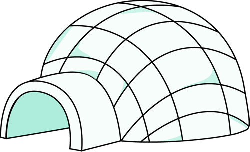free igloo clipart preschool igloo pinterest clip art school rh pinterest com igloo clipart igloo clipart outline