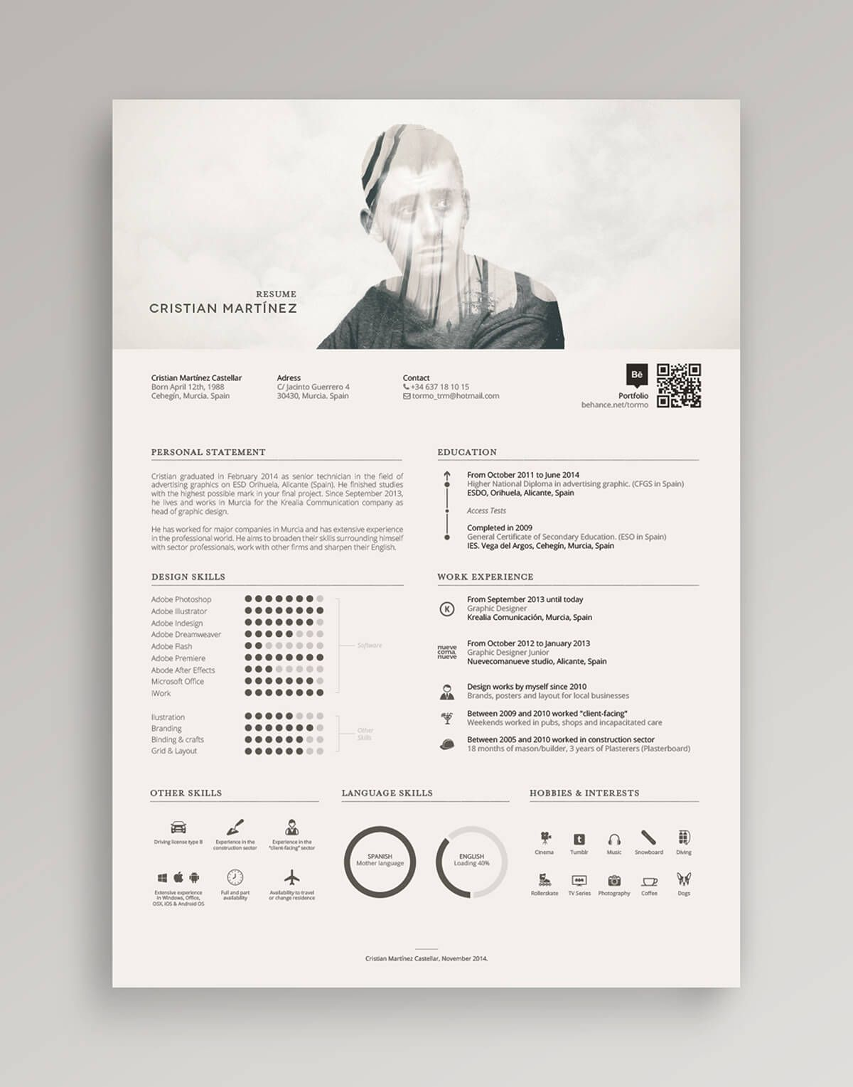Make an enduring first impression on hirers with a bold and original resume [free templates]