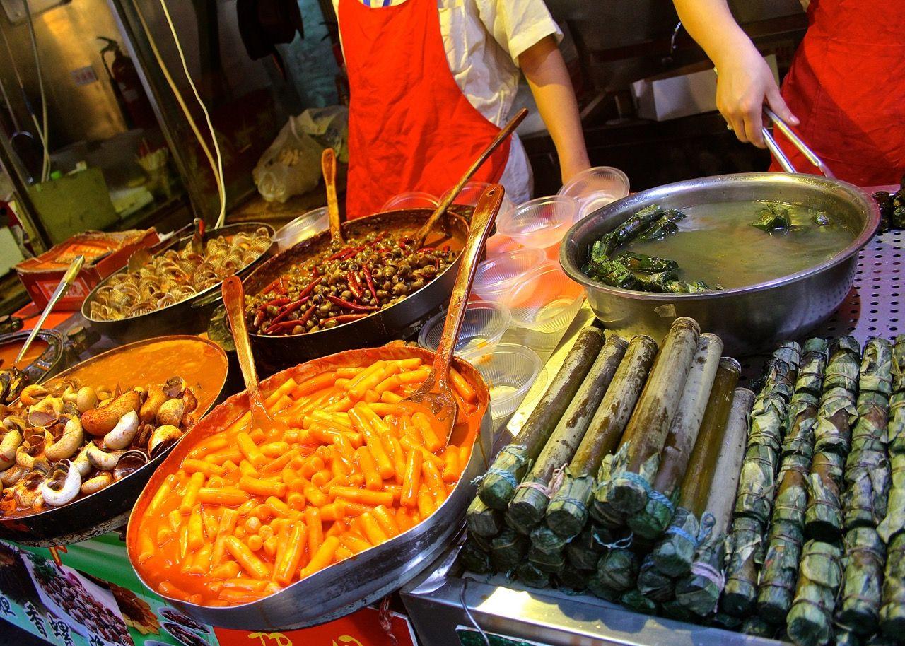 Beijing food market china travel food food market