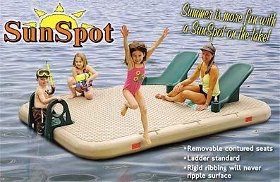 Image result for sunspot water raft