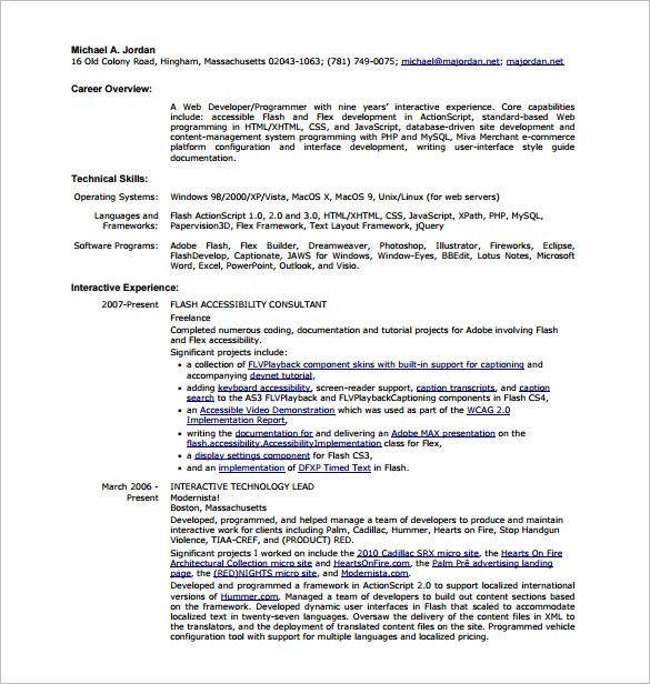 Junior Software Developer Resume Sample In 2020 Resume Examples Web Developer Resume Resume Format
