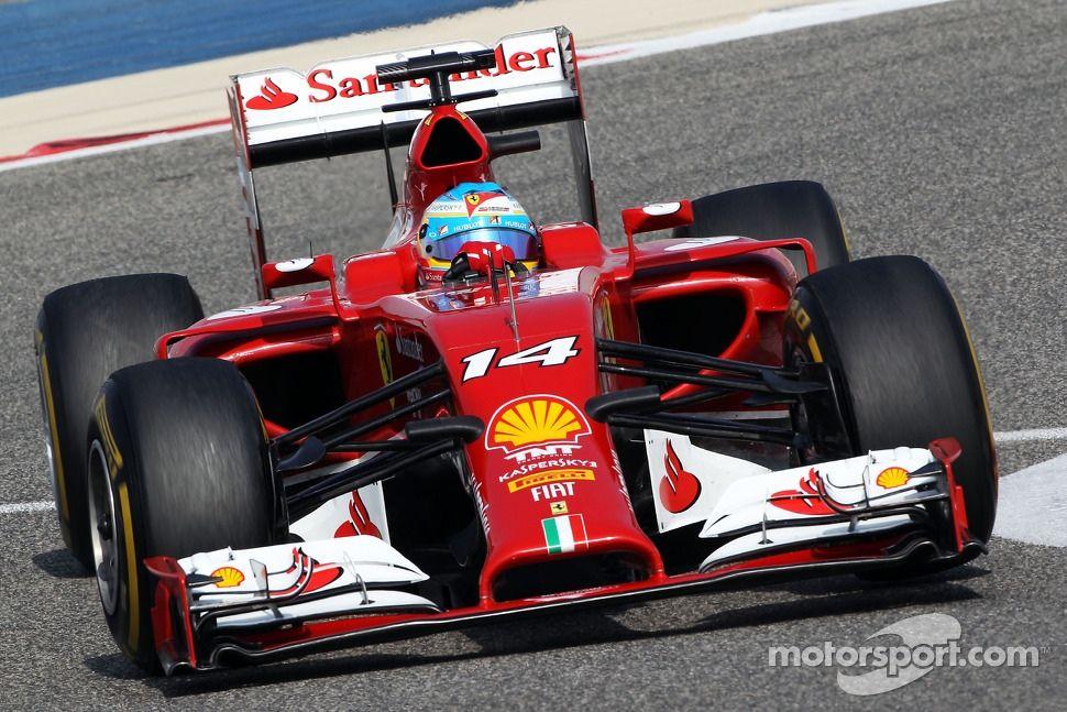 Fernando Alonso Ferrari F14 T Formule 1