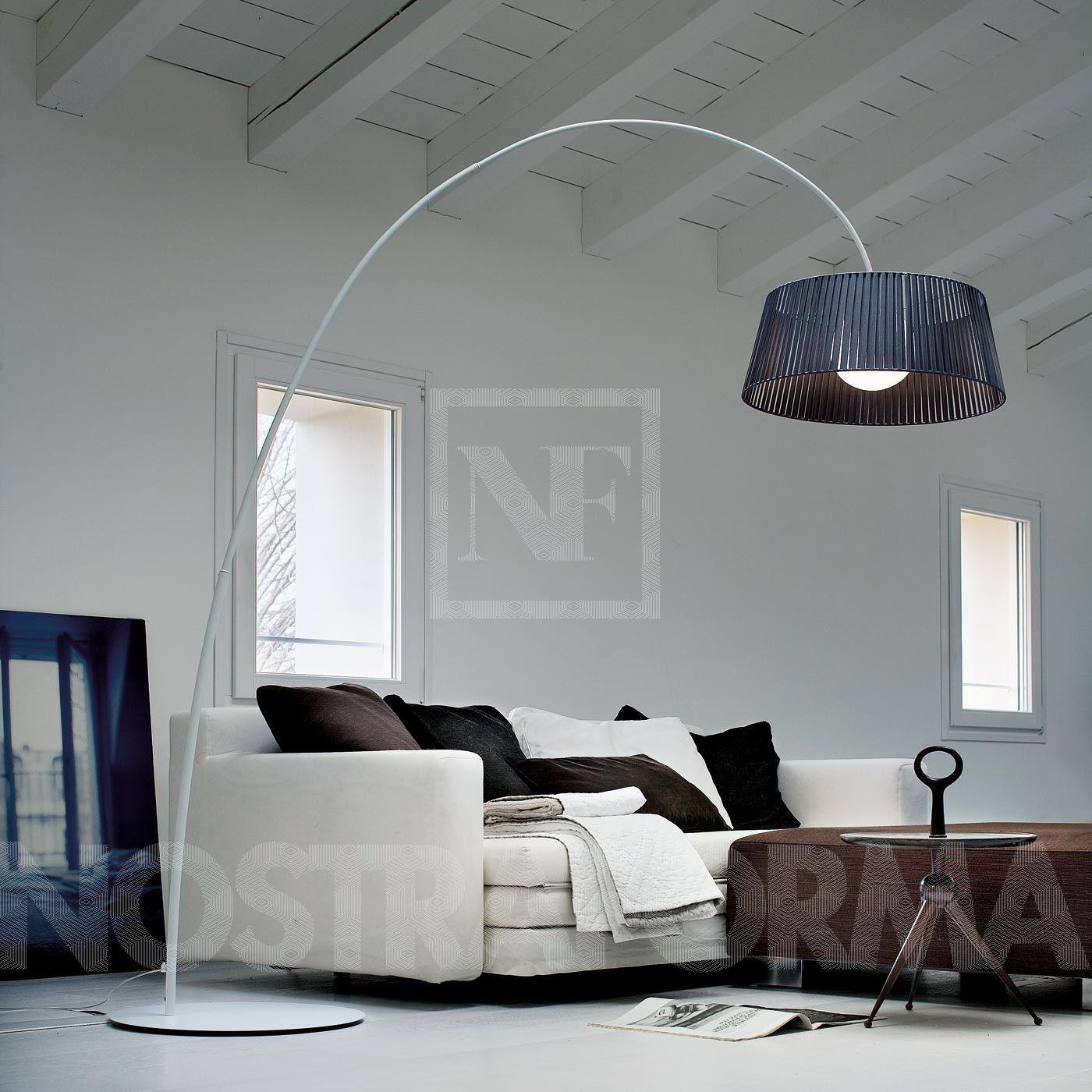 Morosini Ribbon TE A Bogenleuchte, Nickel » Design Leuchten ...