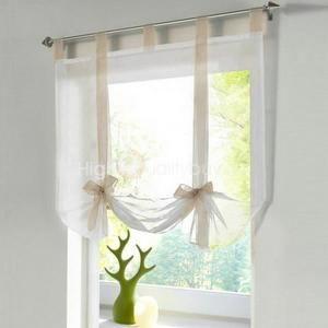 Beige nœuds papillons fenêtre rideaux de ballons accueil salon ...