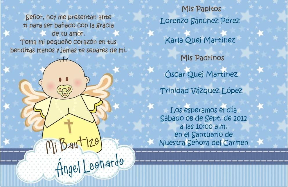 Invitation bautizo pinterest invitacion para bautizo for Poemas para bautizo