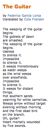 Guitar Poems 7