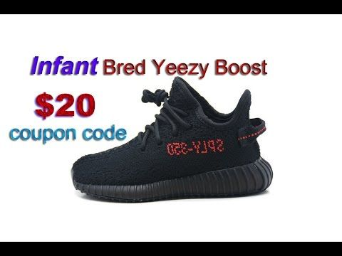 3fce0f419a396c great look 0793f 38e28 Unboxing Yeezy Boost 350 V2 Bred Infant HD Review  from aj23shoes. ...