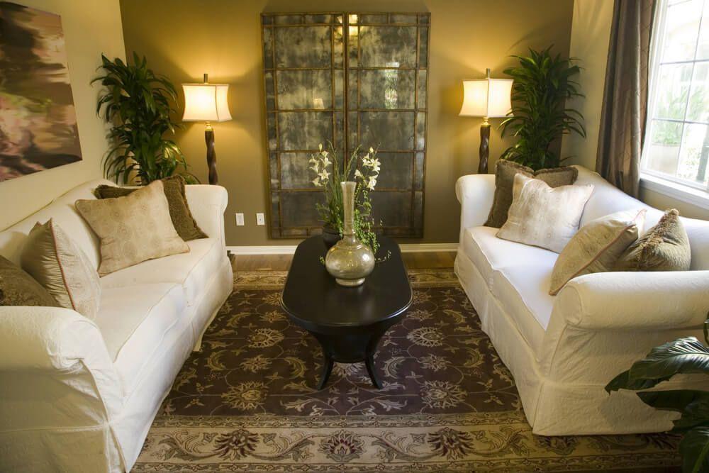 650 Formal Living Room Design Ideas for 2017 White sofas, Living