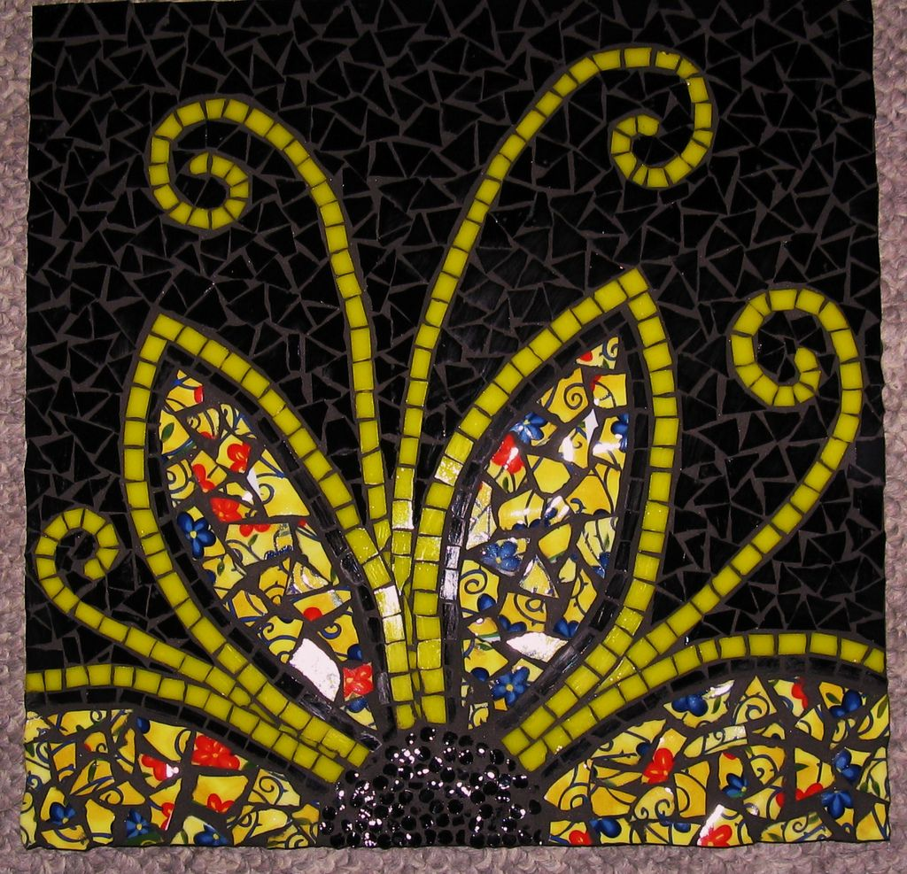 Spring Fling | Mosaics, Glass and Mosaic designs