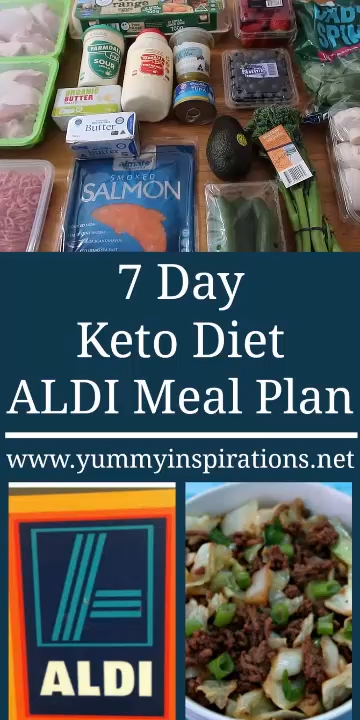 Photo of 7 Day Keto Diet ALDI Meal Plan Video