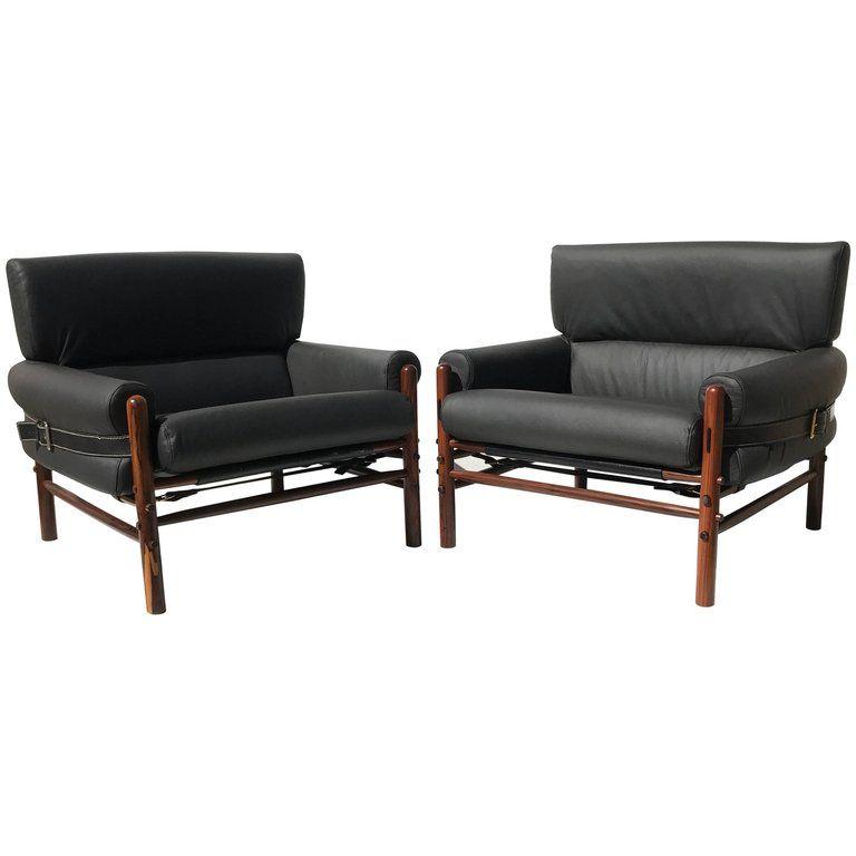 Pair of Arne Norell Kontiki Lounge Chairs in 2018 VIA LOLA Chair