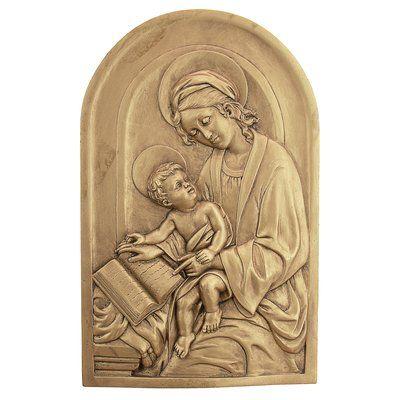 Design Toscano St. Anne, Patron Saint of Grandmothers Wall Décor ...