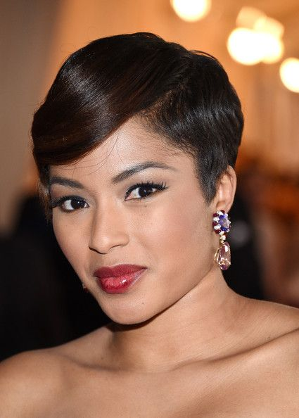 """TV personality Alicia Quarles attends the """"Charles James: Beyond Fashion"""" Costume Institute Gala"""