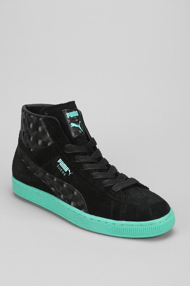 3399d4994776ab Puma Suede Mid-Top Classic OP Prism Sneaker