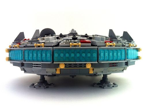 4504 Millennium Falcon Mods - Rear | My take on Flail's famo… | Flickr