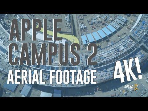 Apple Campus 2 astronave, video 4K mostra la montagna di Tim Cook e il centro fitness - macitynet.it