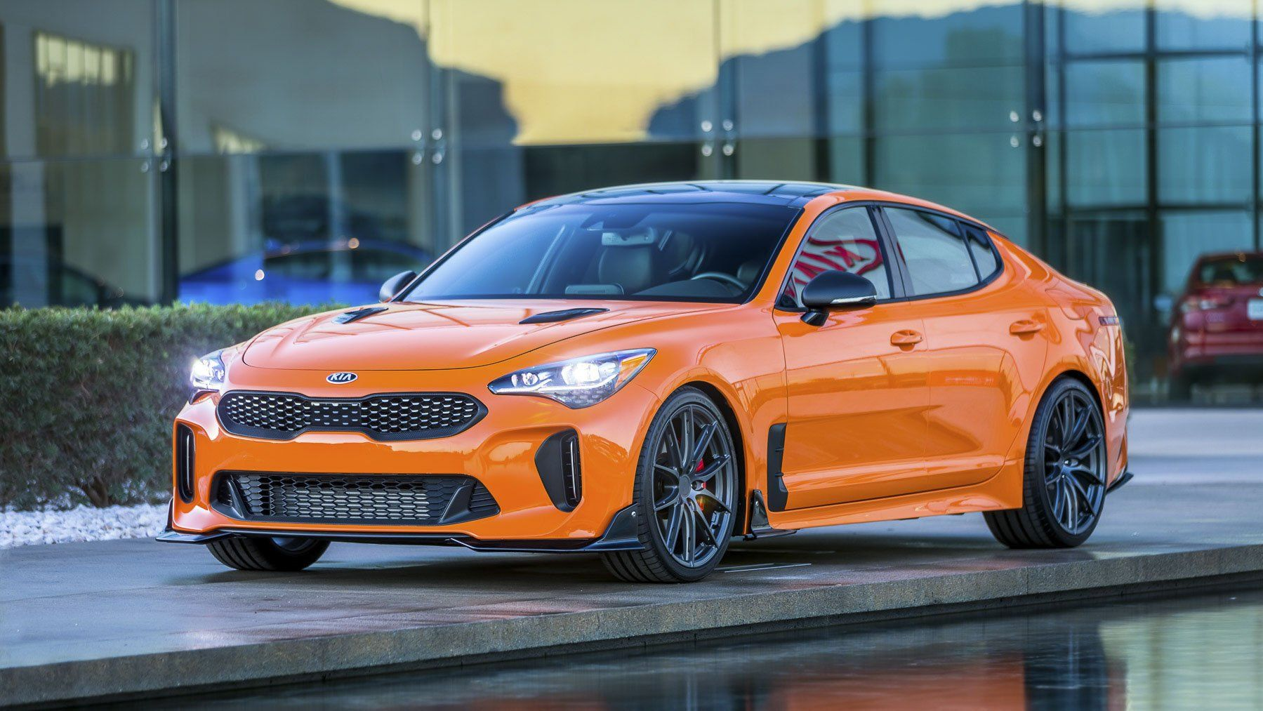 Check Out The Long Term Review On The 2018 Stinger Gt And See Why This Vehicle Is The Best Of The Best Kia Stinger Kia Kia 2017