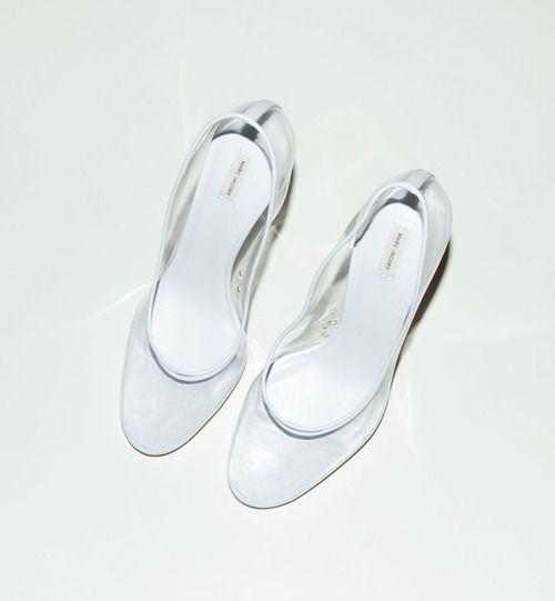 Marc Jacobs Transparent Heels...I must have!