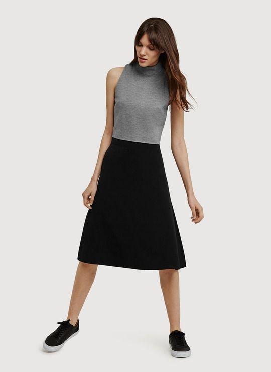 Mancroft graphic broderie skirt Finery Buy Cheap Online RJtcBXPO