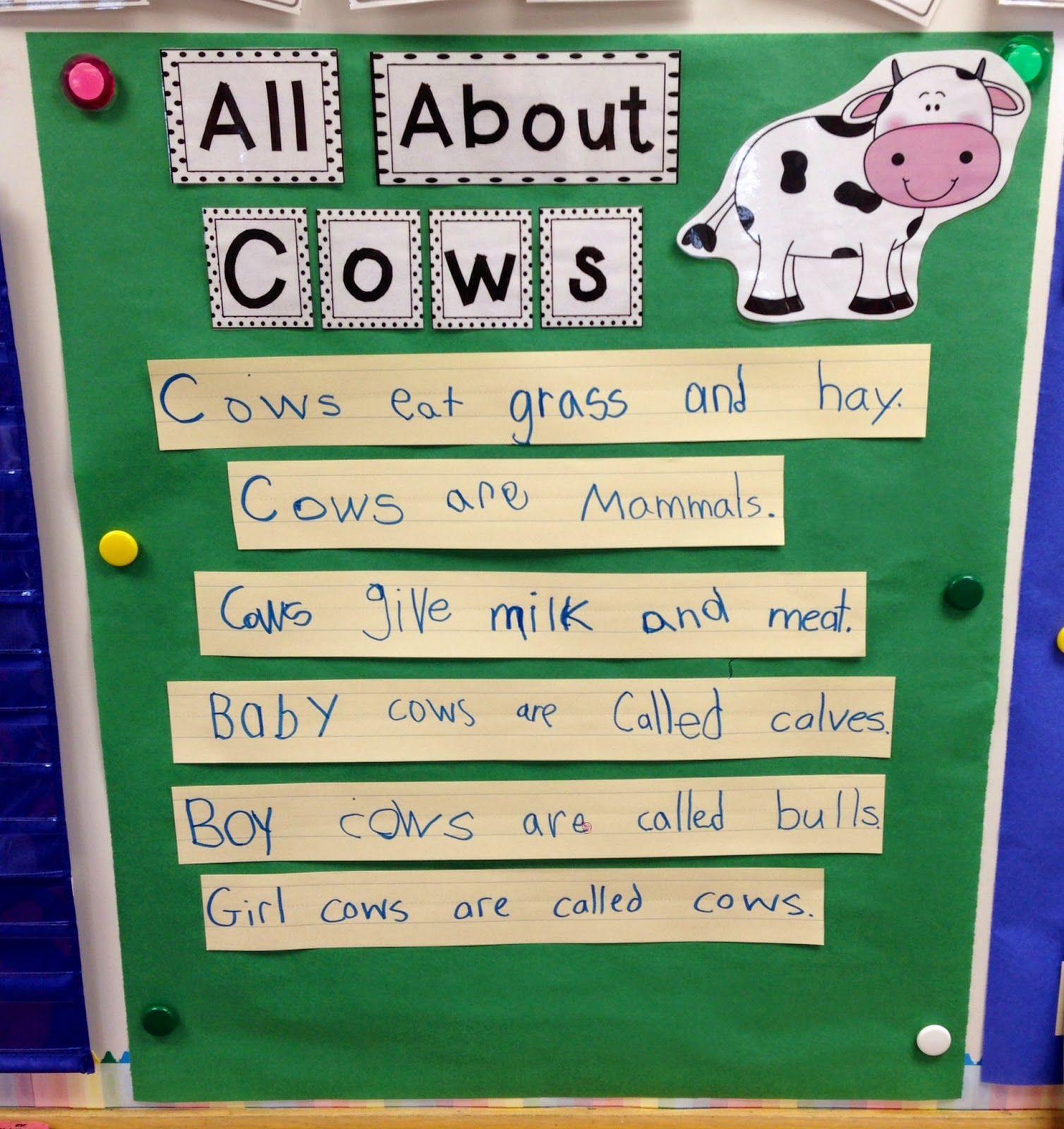 Fun On The Farm Math Literacy Amp Writing Activities