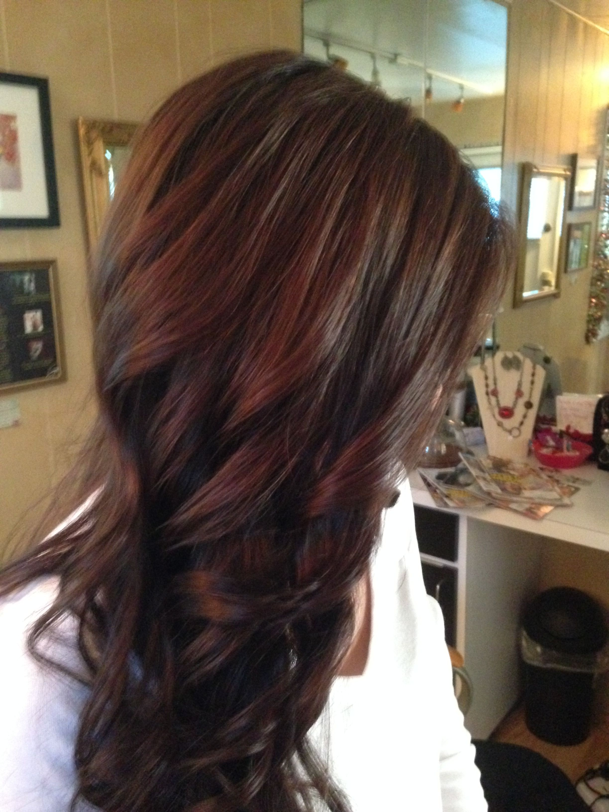 Chocolate Brown Demi Wella Color Hair Styles My Clients Love In