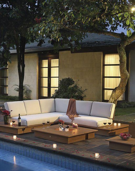 stylishe Gartenlounge La Villa Zauber dir deine eigene Gartenoase