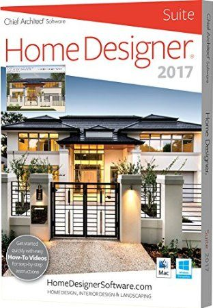 Chief Architect Home Designer Suite 2017