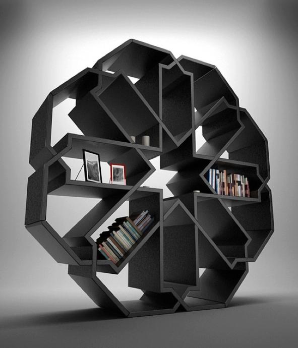 30 Gorgeous And Innovative Bookshelves Projeto Estante Estantes