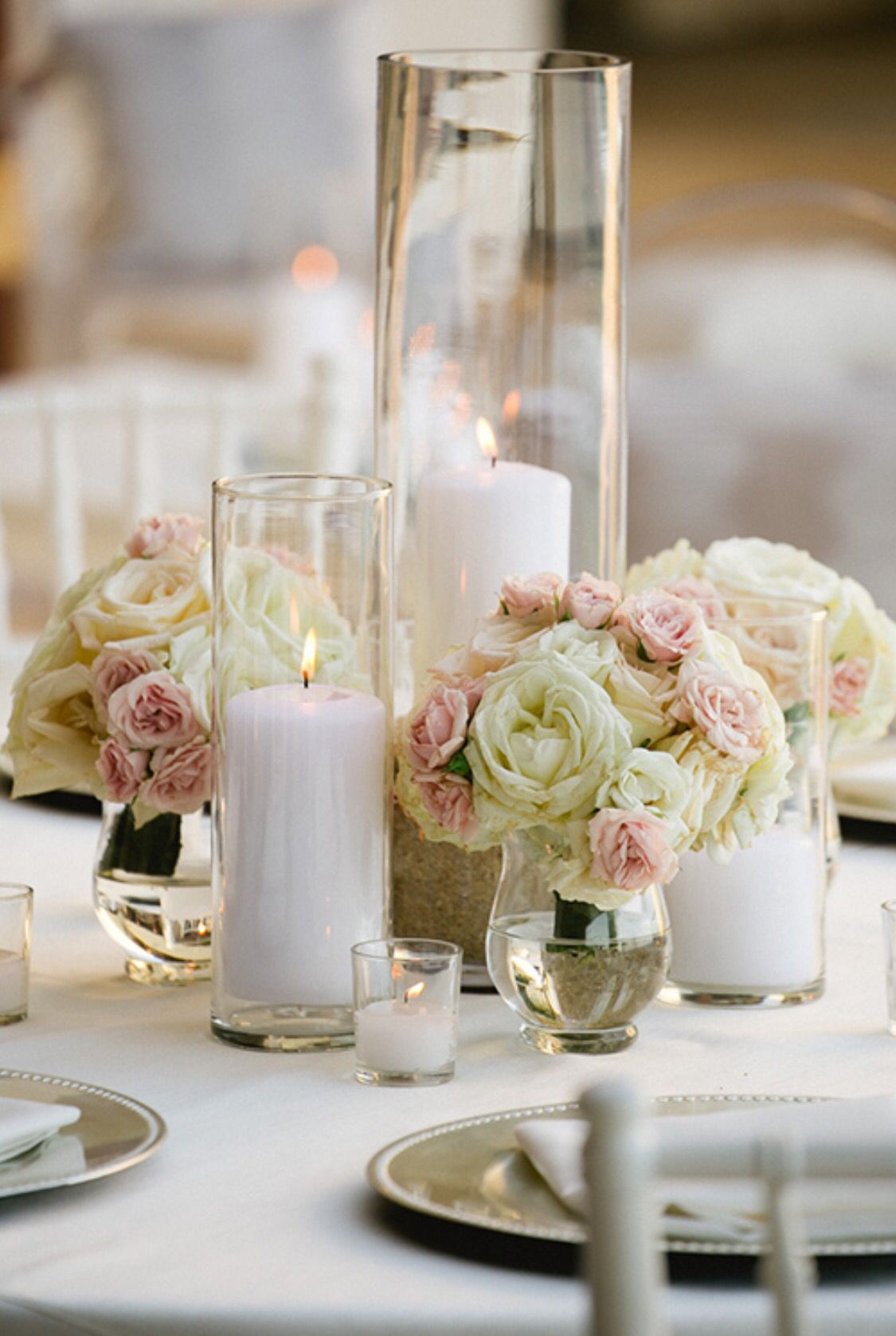 Wedding decorations with lights november 2018 Centro de mesa  On the th of November    Pinterest