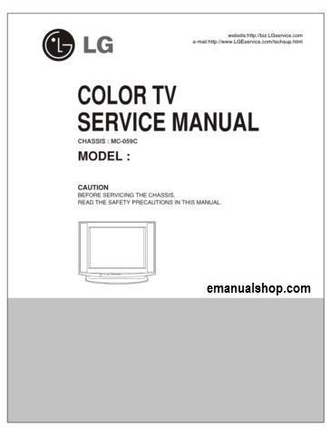 lg color tv mc 059c service manual download service repair manuals rh pinterest com Insignia TV Repair Manual colour tv repair manual
