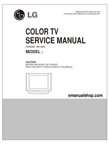 lg color tv mc 059c service manual download service repair manuals rh pinterest com lg owner's manual plasma tv lg owner's manual plasma tv