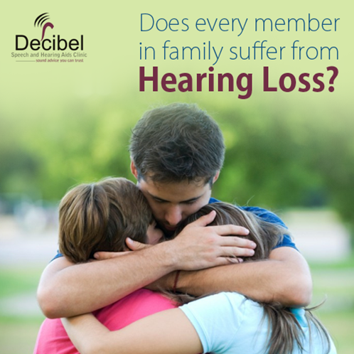 Is HEARING LOSS a HEREDITARY problem in your FAMILY? No