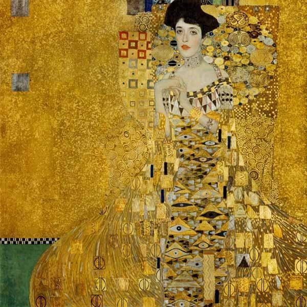El retrato de Adele Bloch-Bauer I (1907) Gustav Klimt   Arte ...