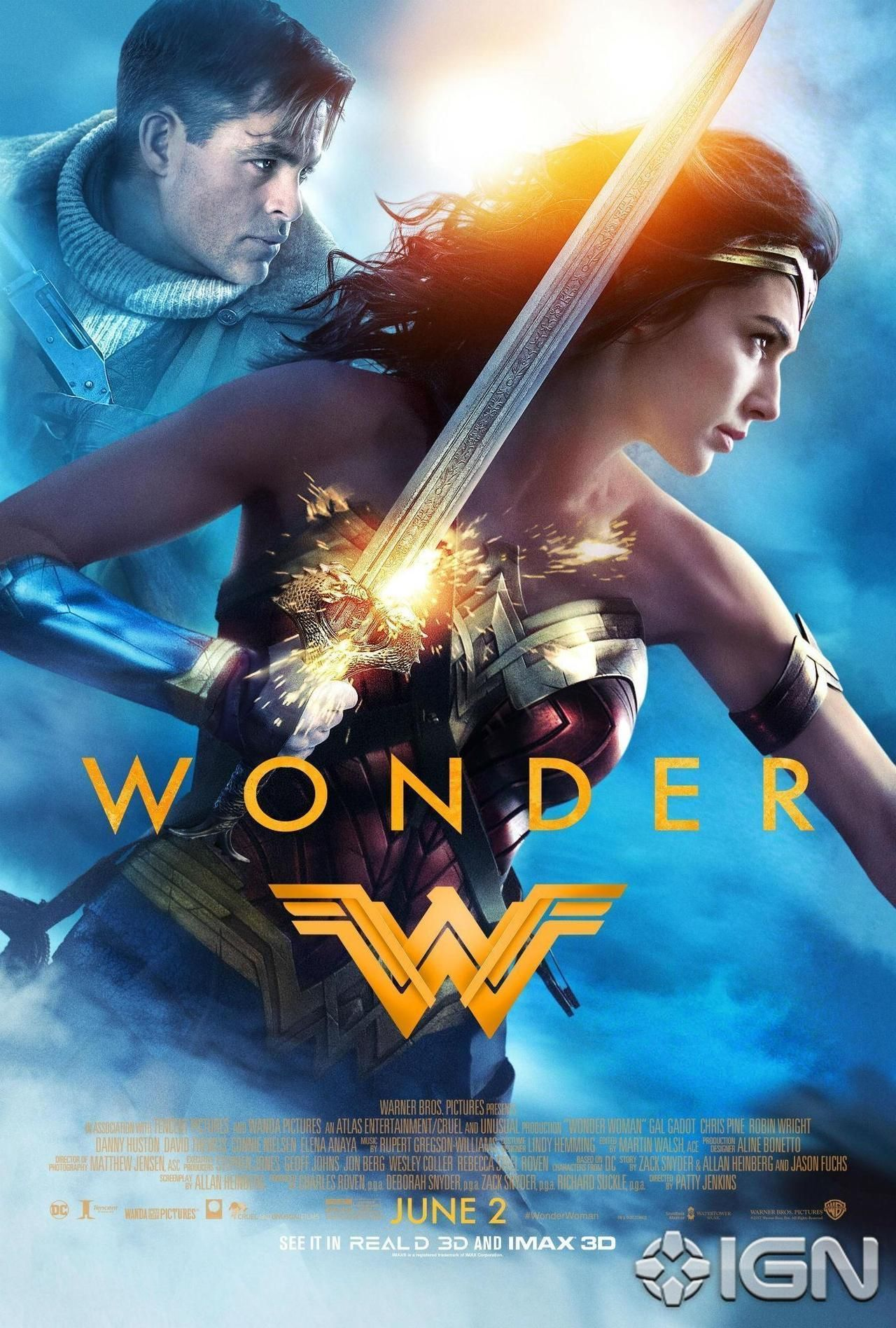 Wonder Woman 2017 Full Movie 720p BluRay Free Download