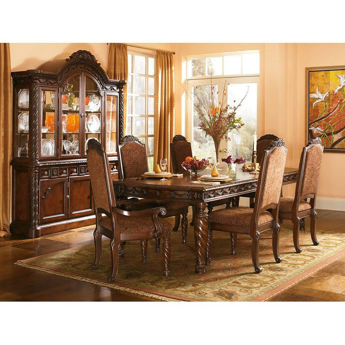 Castlethorpe Extendable Dining Table In 2021 Ashley Furniture Dining Rectangular Dining Room Set Dining Room Sets