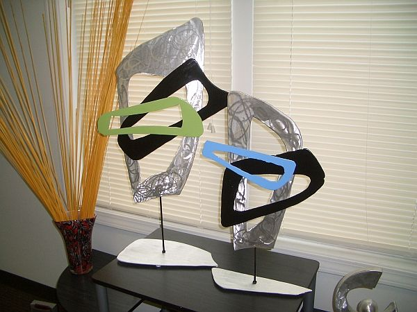 Tabletop Sculptures With A Abstract 70u0027s Style By Tony Viscardi  Www.ViscardiDesigns.com