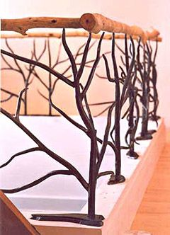 Image detail for -photos lorelei sims tree branch railing 24 feet in length