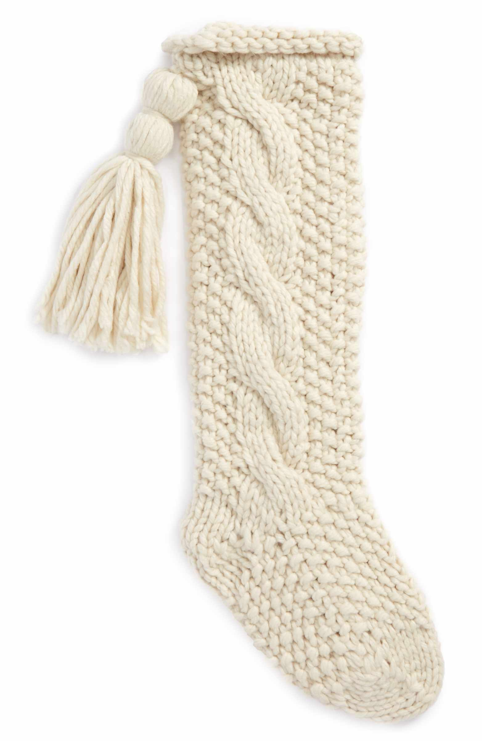 Main Image - Nordstrom at Home Cable Knit Stocking | Stockings ...