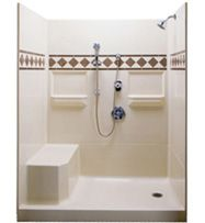 Home Depot Fiberglass Shower Stalls Contact Kitchen Bath Depot About Your Needs And We Can Pr Bathroom Remodel Shower Tub To Shower Conversion Shower Stall