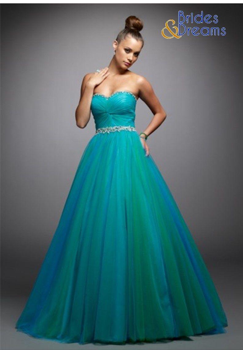 Hermoso vestido en dos tonalidades perfecto para tus #QuinceAños ...
