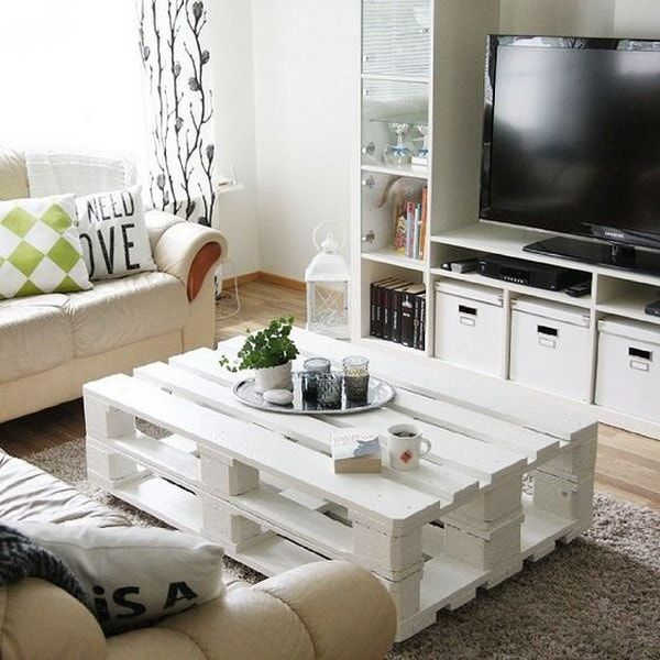 Muebles y objetos hechos con palets de madera  Mesas ...