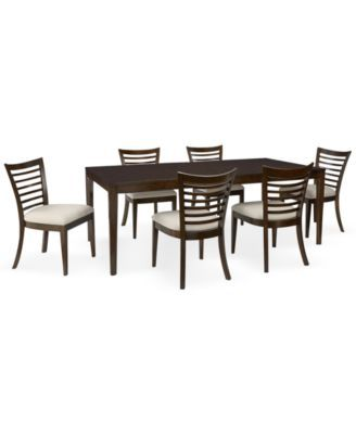Brisbane 7 Piece Dining Room Furniture Set